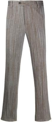 Missoni wave-pattern trousers