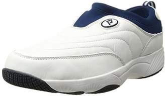 Propet Men's Wash N Wear Slip On Suede Walking Shoe