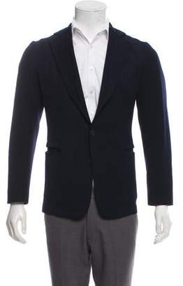 Bottega Veneta Virgin Wool Deconstructed Blazer