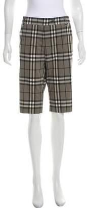 Burberry Nova Check Crop Pants