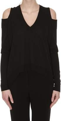 Nude V-neck Sweater
