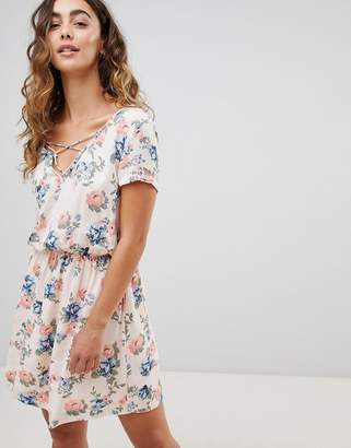 Pepe Jeans Deborah Floral Print Mini Dress