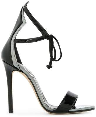 at Farfetch Marc Ellis open-toe heel sandals