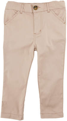 Andy & Evan Twill Straight-Leg Pants, Size 2-7