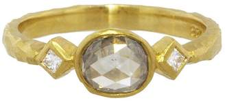 Cathy Waterman Grey Diamond Ring