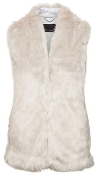 Taupe Faux Fur Vest