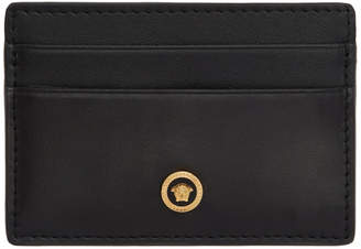 Versace Black Tribute Medusa Card Holder
