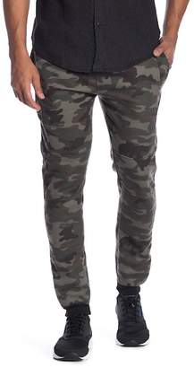 Burnside Fleece Camouflage Joggers