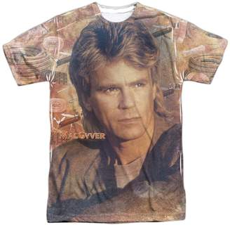 Tools of the Trade Other TV Shows Macgyver Classic TV Show Large Face Adult Front Print T-Shirt