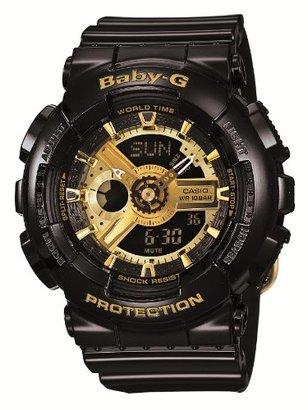 Baby-G (ベビーG) - [カシオ]Casio 腕時計 Baby-G ビッグケースシリーズ 【数量限定】 BA-110-1AJF レディース