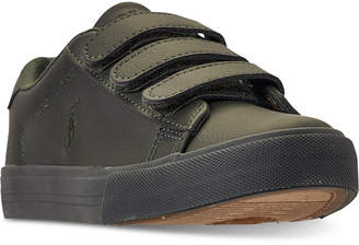 Polo Ralph Lauren (ポロ ラルフ ローレン) - Polo Ralph Lauren Little Boys' Easten Ez Casual Sneakers from Finish Line