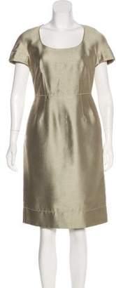 Dolce & Gabbana Cap Sleeve Sheath Dress
