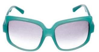 Christian Dior Gradient Square Sunglasses