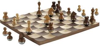 Umbra Wobble Chess Set - Walnut