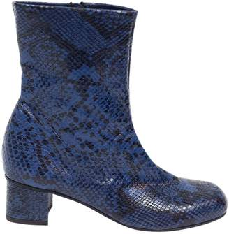 Suno Python ankle boots