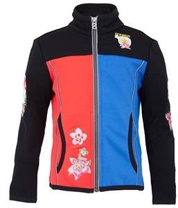 Bogner Coral & Blue Elida Zip Stretch Jacket