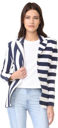 Norma Kamali Single Breasted Jacket $303 thestylecure.com