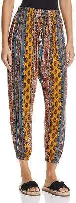 Band of Gypsies Native Tapestry Inspired-Print Pants