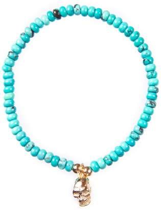22 Jewelry - Luis Skull Turquoise Bracelet