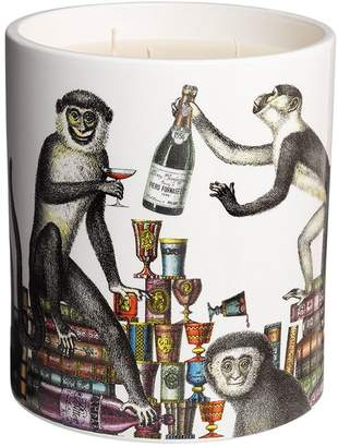Fornasetti Large Scimmie Otto Scented Candle