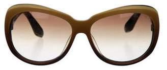 Dita Ombré Oversize Sunglasses