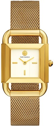 Tory Burch PHIPPS WATCH, GOLD-TONE, 29 X 41 MM