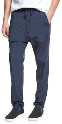 Vince Athletic Drop-Rise Stretch-Nylon Pants