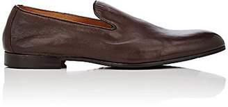 Doucal's Men's Nappa Leather Venetian Loafers - Dk. brown