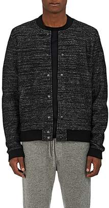 Barneys New York MEN'S MÉLANGE WOOL-BLEND BOMBER JACKET