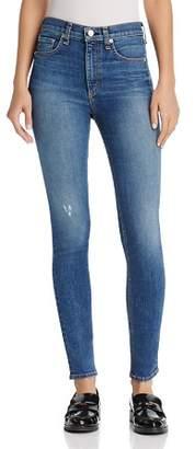 Rag & Bone High-Rise Skinny Jeans in El