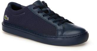 Lacoste Women's L.12.12 Light-WT Textile and Leather Trainers