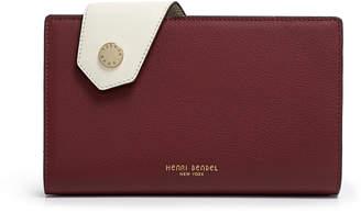 Henri Bendel Divine Large Color Blocked Snap Wallet