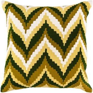 """Decor 140 Chur Ikat Decorative Pillow - 18"""" x 18"""""""