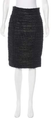 J. Mendel Knee-Length Pencil Skirt