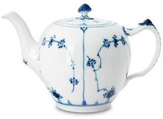 "Royal Copenhagen Blue Fluted Plain"" Teapot"
