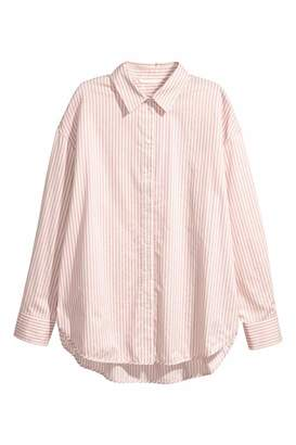 H&M Cotton Shirt - White - Women