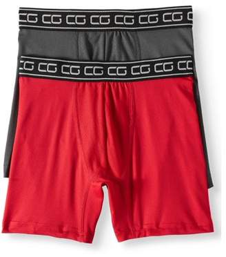 CHAMPIONSHIP GOLD Boys' Neon Performance Boxer Briefs, 2-Pack