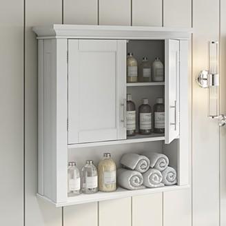 Riverridge Home RiverRidge Somerset Collection - 2-Door Wall Cabinet - White