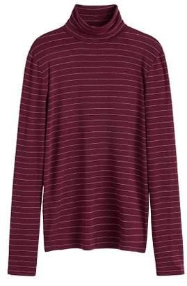 MANGO Metallic thread t-shirt