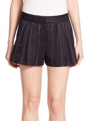 Rag & Bone Pico Pleated Striped Shorts