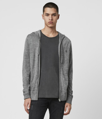 AllSaints Mode Merino Zip Hoodie