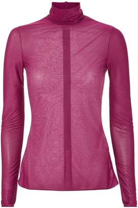 Victoria Beckham Polo Neck Top