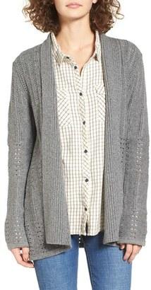 Women's Roxy Old Pine Knit Cardigan $69.50 thestylecure.com