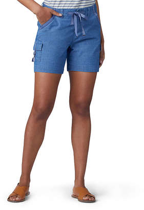 Lee Womens Mid Rise 6 Cargo Short