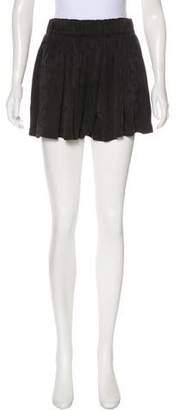 Raquel Allegra Silk Mini Shorts w/ Tags