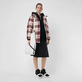 Burberry Check Down-filled Puffer Jacket