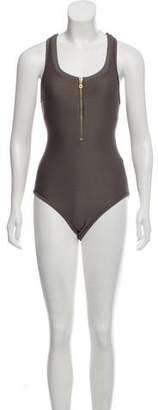 Heidi Klein Textured One-Piece Swismuit