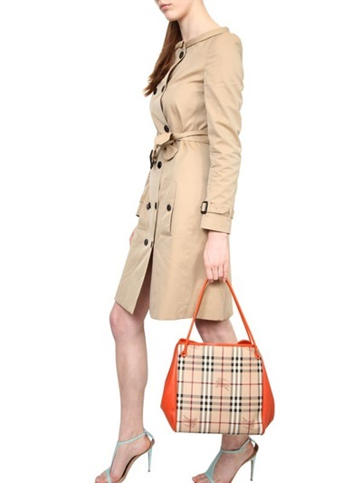 Burberry Canterbury Haymarket Check Shoulder Bag