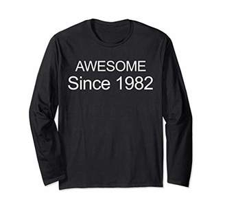 Awesome Since 1982 T-Shirt 37th Birthday Gift Shirt