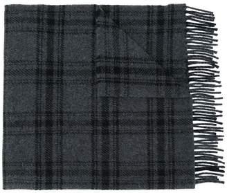 A.P.C. check print scarf